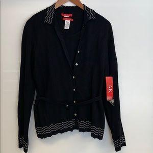 NWT 2pc Anne Klein Sz M sweater & top set NEW